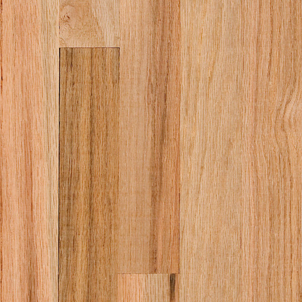 2-1/4″ Width x 3/4″ Thick Second Grade Red Oak Unfinished Square Edge Solid Hardwood Flooring