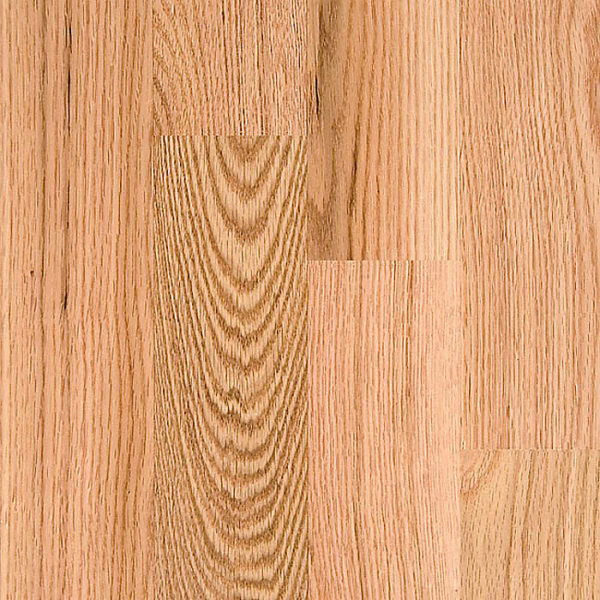 2 1/4″ Width x 3/4″ Thick Select Red Oak Unfinished Square Edge Solid Hardwood Flooring