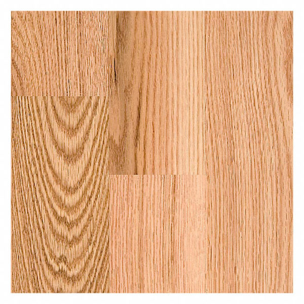 4″ Width x 3/4″ Thick Select Red Oak Unfinished Square Edge Solid Hardwood Flooring