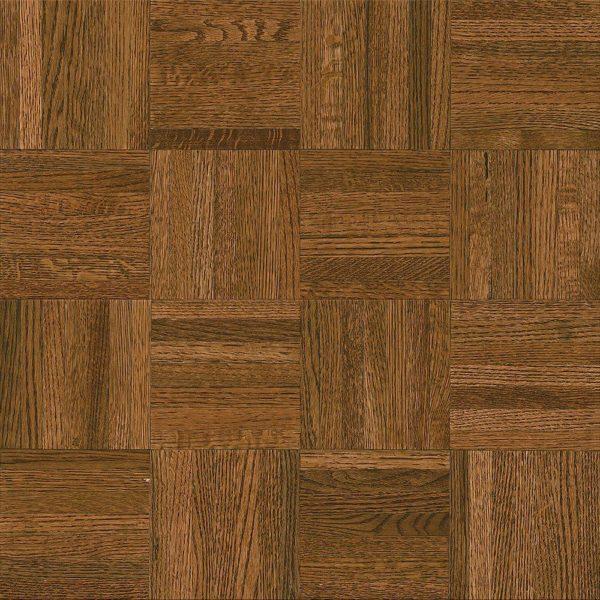 5/16 inchs Thick x 12 inchs Wide x 12 Inchs Lenth Square Natural Oak Gunstock Parquet Wood Flooring