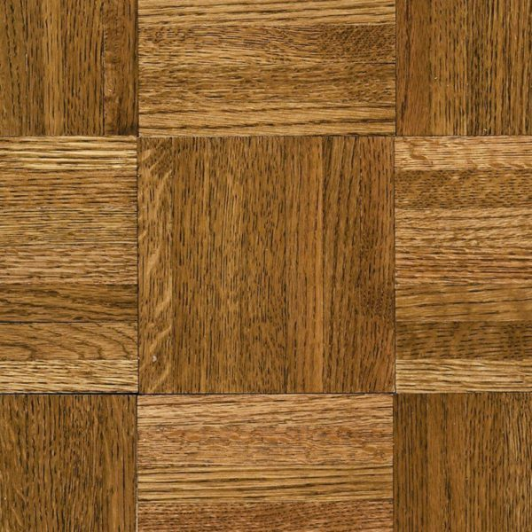 5/16 inchs Thick x 12 inchs Wide x 12 Inchs Lenth Square Natural Oak Spice Brown Parquet Wood Flooring